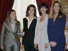 Giorgia Meloni, Mariastella Gelmini, Mara Carfagna e Stefania Prestigiacomo.jpg